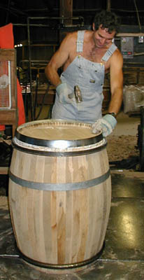 225 L Wine Barrel Made From Canadian Oak Barrels